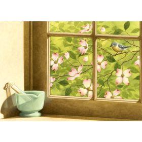 Spring Dogwood Window Print