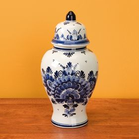 Blue Delft Apothecary Jar