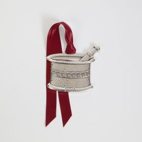 Pewter Mortar and Pestle Ornament, 2014