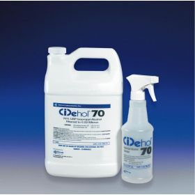 CiDehol Sterile 70% Isopropyl Alcohol Cleaner, 1 gal.