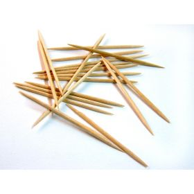 Sterile Wooden Toothpicks by DeRoyal QTX32382