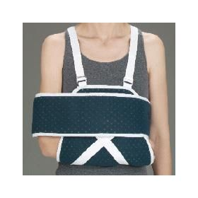 Shoulder Immobilizer w/Canvas Swathe by DeRoyal QTX900104