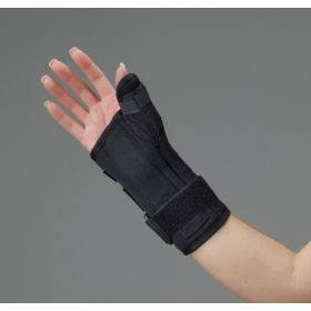 Black Foam Wrist / Thumb Splints by DeRoyal QTXBF500201