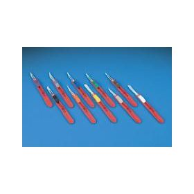 Safety Scalpel with Green Slider, Disposable, Sterile, #15 QTXD4515CSH