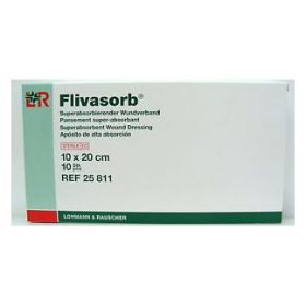 "Flivasorb 4 x 8"" Superabsorbent Dressing by Lohmann and Rauscher"