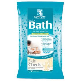 Comfort Baby Bath Premium Fragrance-Free Cleansing Washcloths SGE7907H