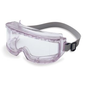 Uvex Futura Indirect Vent Goggles with Clear Frame and Clear Uvextreme Anti-Fog Lens