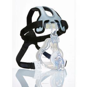 NIV AF531 Mask, Full Face with Leak 1 Entrainment Elbow, Size S