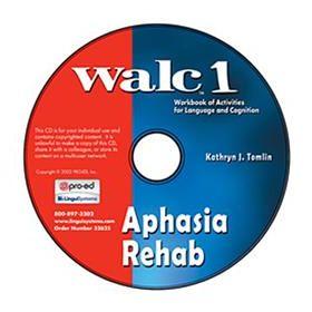 WALC 1 Aphasia Rehab on CD