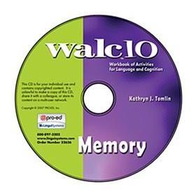 WALC 10 Memory on CD