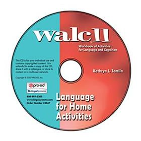 WALC 11 Language for Home Activities on CD