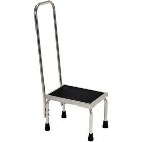 Stainless Steel Medical Step Stand with Handle FT-SS-1HR