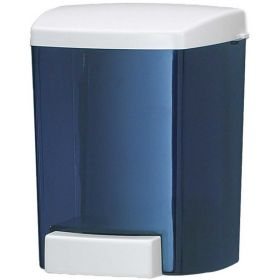 San Jamar Soap Dispenser 30 Oz.Bulk Foam,Classic Arctic Blue - SF30TBL - Pkg Qty 6