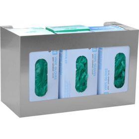 Omnimed 305306 Hexa Glove Box Holder, Stainless Steel, 1/Pack