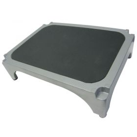 Imperial Surgical OR-36363 Aluminum Stackable Step Stool with Black Mat - Pkg Qty 4