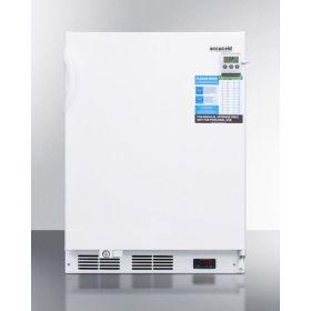 Summit FF7LWBIVACADA Built-In Undercounter ADA Auto Defrost All-Refrigerator, 2.6 Cu.Ft. Capacity