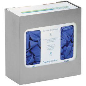 Omnimed 305390 Single Stainless Steel Chemo Glove Box Holder