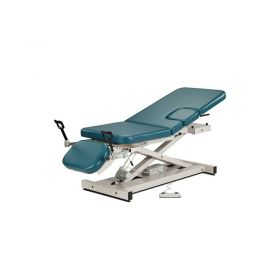 Clinton 85309 Open Base Multi-Use Power Imaging Table with Stirrups