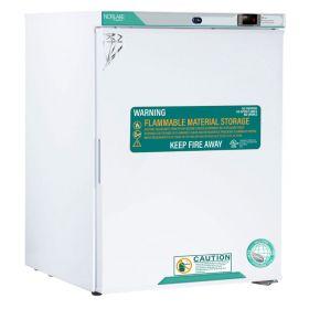 Nor-Lake White Diamond Series Undercounter Flammable Storage Refrigerator, 5 Cu.Ft.