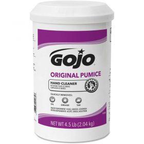 GOJO  Original Pumice Hand Cleaner,Lemon,4-1/2 lb Cartridge,6/Carton - 1135-06