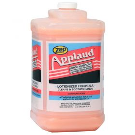 Zep Applaud Antibacterial Hand Soap,Floral Fragrance,Gallon Bottle - 338524
