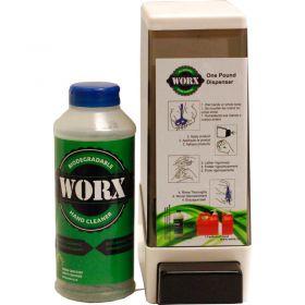 WORX  Biodegradable 1 lb.Hand Cleaner Dispenser Kits - 4/Pack - 11?9965