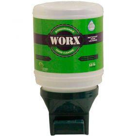 WORX  Biodegradable Hand Cleaner Promo?Pak,3 lb Bottle w/Dispenser - 10?PK80