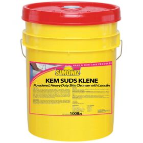 Simoniz  Kem Suds Klene 100 lb.,Pkg Qty 1 - CS0350100