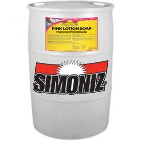 Simoniz  Pink Lotion Soap 55 Gallon,Pkg Qty 1 - CS0225055