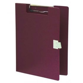 """Omnimed Standard Covered Poly Clipboard, 10""""W x 13""""H, Burgundy"""