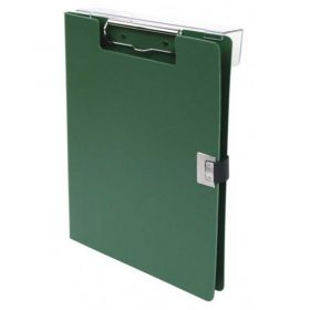 """Omnimed Overbed Covered Poly Clipboard, 10""""W x 13""""H, Forest Green"""
