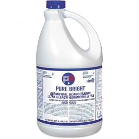 Pure Bright Liquid Bleach, 1 Gallon Bottle, 6 Bottles/Case - BLCH6