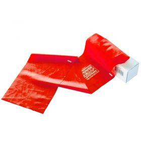 Power Systems Flat Band 6 Yd. Roll - Medium - Red