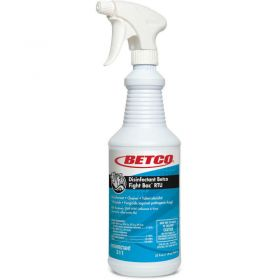 Betco Fight-Bac RTU Disinfectant Cleaner - 12/CS, 32 oz. - Citrus Floral, Clear - 3111200