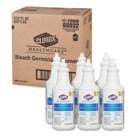 Clorox Hospital Cleaner Disinfectant W/ Bleach, 32 Oz. Bottle 6/Case - COX68832