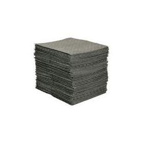 "MRO Plus Absorbent Pad, 15"" x 19"", Gray"