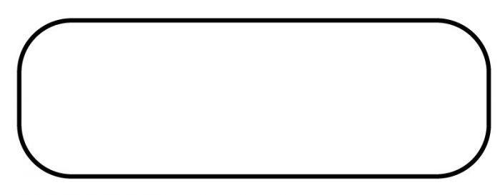Direct Thermal Printer Label 1-1/2